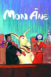 Au Clair De La Lune (By Moonlight) Cartoon Character Picture