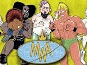 Behold The Mongo Wrestling Alliance Cartoon Picture