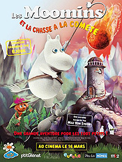 Muumi Ja Punainen Pyrst�t�hti (Moomins and the Comet Chase) Picture Into Cartoon