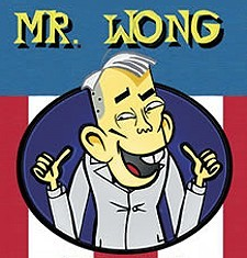 Mr. Wong Web Cartoon Series Logo