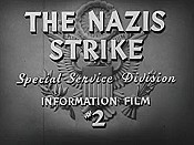 The Nazis Strike Cartoons Picture