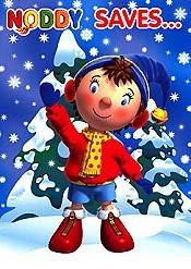 Noddy Saves Christmas Cartoon Picture