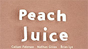 Peach Juice Cartoon Picture