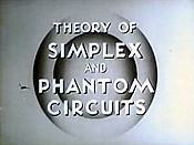 Theory Of Simplex And Phantom Circuits Cartoon Picture