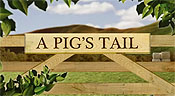 A Pig's Tail Cartoon Picture