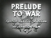 Prelude To War Pictures In Cartoon