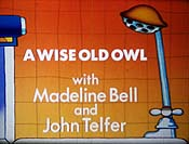 A Wise Old Owl Pictures Of Cartoon Characters