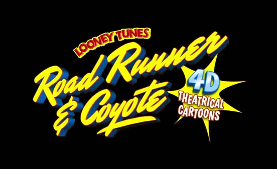 Road Runner & Wile E. Coyote 4-D Pictures In Cartoon