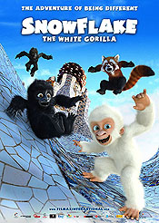 Floquet De Neu (Snowflake The White Gorilla) Pictures In Cartoon