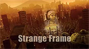Strange Frame Cartoon Picture