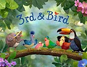 Bird Theatre Cartoon Picture