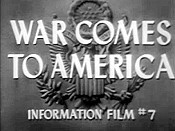 War Comes To America Picture Of Cartoon