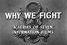 Why We Fight Theatrical Cartoon Series Logo