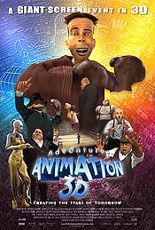 Adventures in Animation 3D Picture Of The Cartoon
