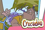 Crocadoo Breakout Cartoon Character Picture