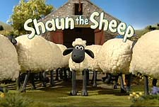 Shaun the Sheep 3D Web Cartoon Series Logo