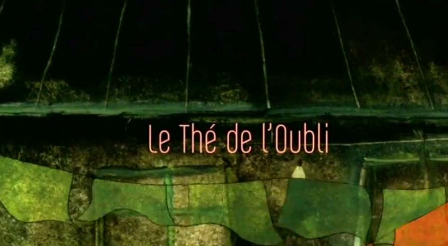 Le Th� De l'Oubli (The Tea of Forgetfulness) Cartoon Picture