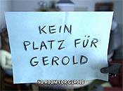 Kein Platz F�r Gerold (No Room for Gerold) Cartoon Picture