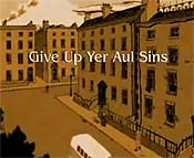 Give Up Yer Aul Sins Cartoon Picture