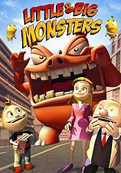 Monstros e Monstrinhos (Little & Big Monsters) Pictures In Cartoon