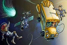 The Magic School Bus 360�