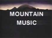 Mountain Music Cartoon Picture
