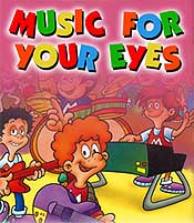 Music For Your Eyes Free Cartoon Picture