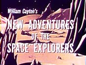 The New Adventures Of The Space Explorers