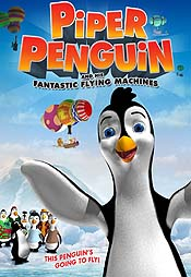 Piper Penguin and His Fantastic Flying Machines Pictures In Cartoon