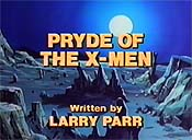 Pryde Of The X-Men Unknown Tag: 'pic_title'