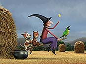 Room on the Broom Cartoon Picture