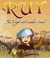 Ruy, The Knight With A Wooden Sword Free Cartoon Picture