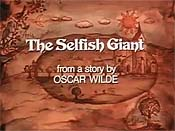 The Selfish Giant Cartoon Character Picture