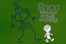 Simon in the Land of Chalk Drawings  Logo
