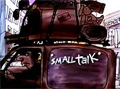 Small Talk Free Cartoon Picture