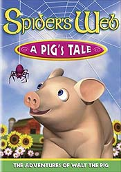 Spider's Web - A Pig's Tale Cartoon Picture