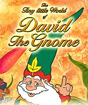 The Tiny Little World of David the Gnome Free Cartoon Picture