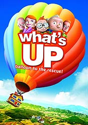 Voando Em Busca de Aventuras! (What's Up: Balloon to the Rescue!) Picture Of Cartoon