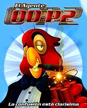 El Agente 00-P2 (Agent Macaw: Shaken & Stirred) Cartoon Character Picture