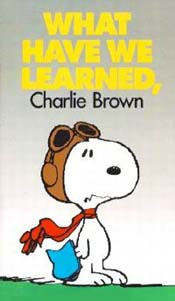 What Have We Learned, Charlie Brown? Cartoon Picture