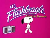 It's Flashbeagle, Charlie Brown Cartoon Picture