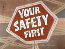 Your Safety First Cartoon Picture