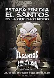 El Santos Vs. La Tetona Mendoza Cartoon Character Picture