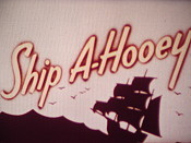 Ship A-Hooey Cartoon Picture