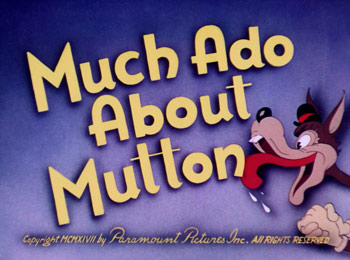 Much Ado About Mutton Cartoon Character Picture