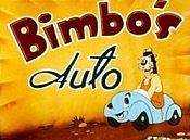 Bimbo's Auto Free Cartoon Picture