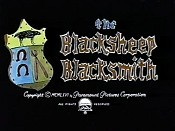 The Blacksheep Blacksmith Free Cartoon Picture