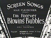 I'm Forever Blowing Bubbles Cartoons Picture