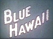 Blue Hawaii Cartoon Picture