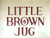 Little Brown Jug Cartoon Picture